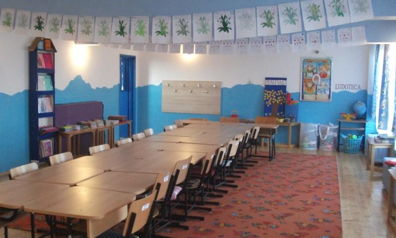Clasa a fost reconditionata in anul scolar 2012-2013, este dotata cu mobilier modular si grup sanitar propriu.