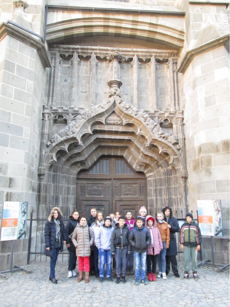 La Biserica Neagră din Brasov