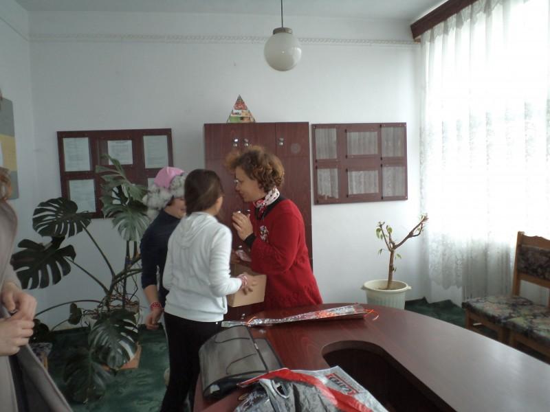 Foto din scoala- 8 martie