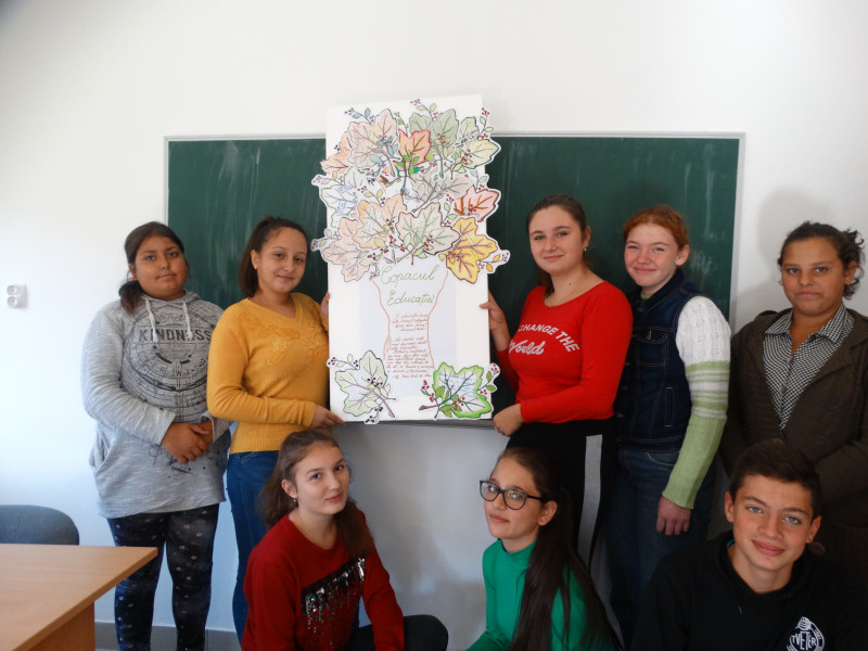 Copacul educatiei - creatia elevilor nostrii