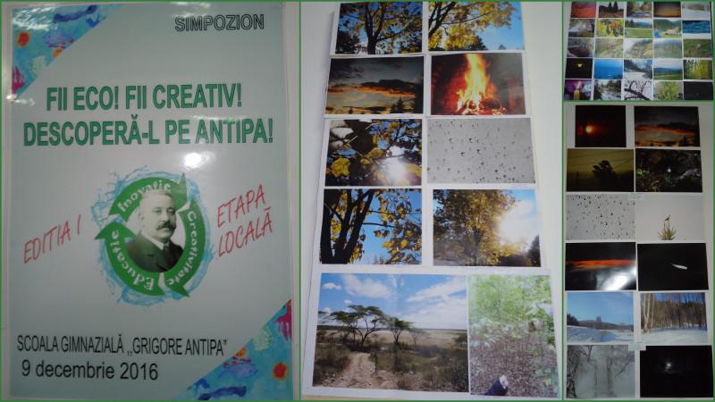 In cadrul aceleiasi activitati s-a desfasurat si un concurs de fotografie, pe teme ECO.