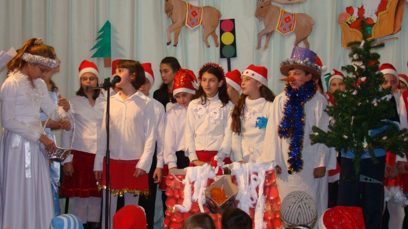 Şc Milcovul, Vrancea- Serbare de Crăciun