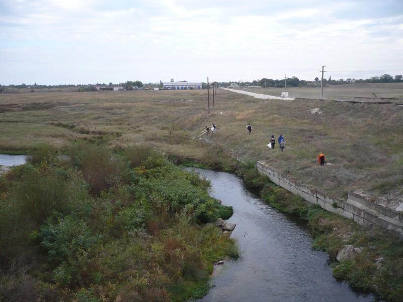 Program ecologic de curatire a Vaii Neajlovului - Corbii Mari