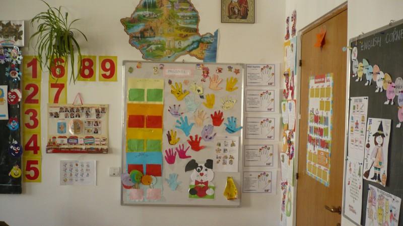 Imagini din clasa pregatitoare