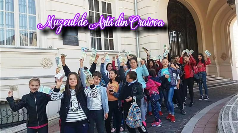 În vizită la Muzeul de Artă din Craiova