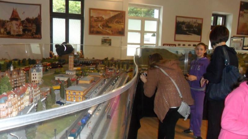 Excursie la Muzeul trenuletelor din Sinaia