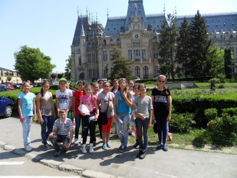 Excursie la Palatul Culturii din Iasi
