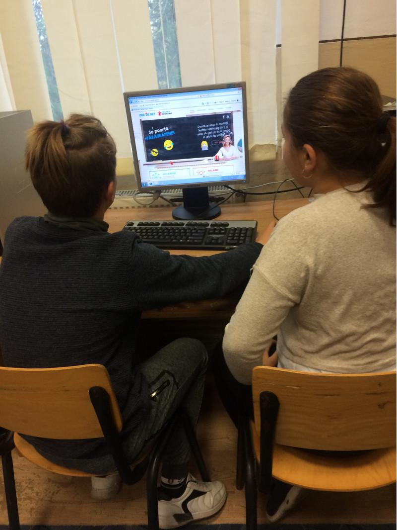 Promovarea utilizarii creative, utile si sigure a Internetului de catre copii.