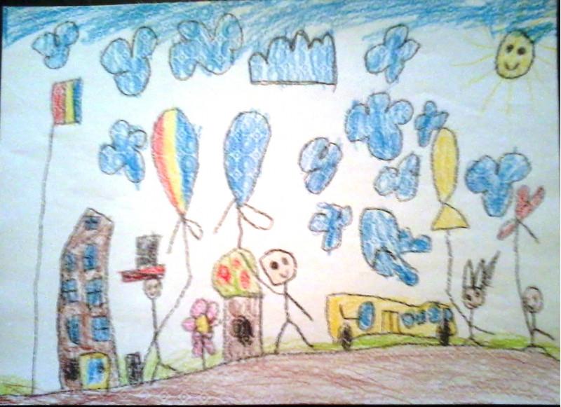 Cei mici sunt plini de creativitate și acest lucru se vede cel mai clar în lucrările pe care le realizează cu plăcere.