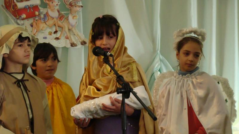 Şc Milcovul, Vrancea- cls a III-a, înv. Ene Maricela- Scenetă de Crăciun