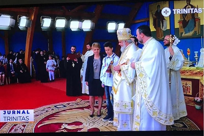 """* Etapa naţională, din 21 mai 2018 a Concursului naţional """" UNITATE : Libertate şi Unire  """" - Premierea echipajelor a fost oficiată de către Părintele Patriarh Daniel."""