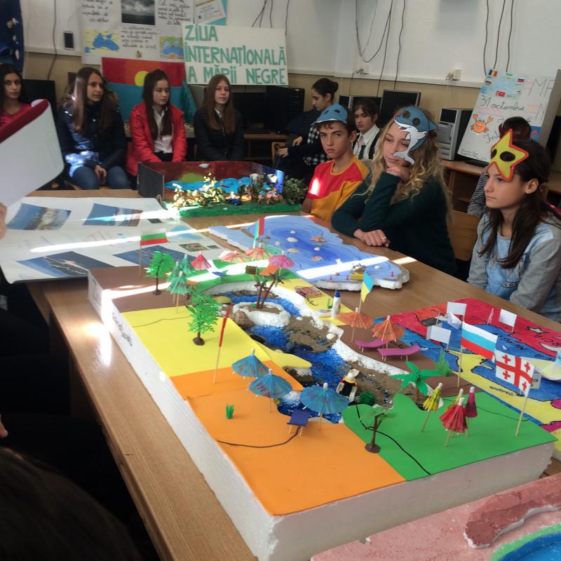 Proiect educational de parteneriat rural-urban cu scopul intelegerii relatiei om - mediu si responsabilizarii elevii fata de mediu.