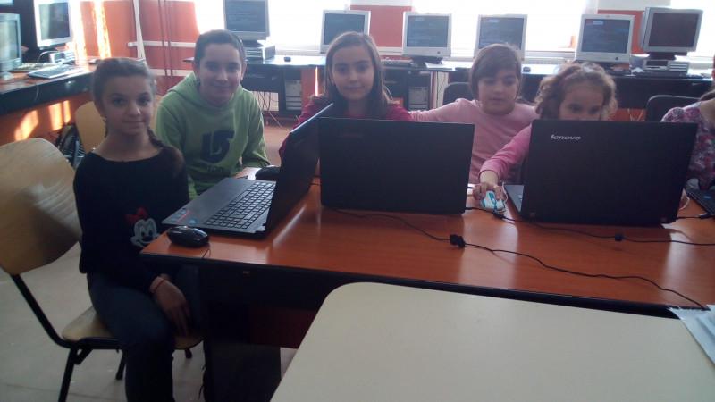 Activitate desfășurată la Școala Gimnazială Hârtiești