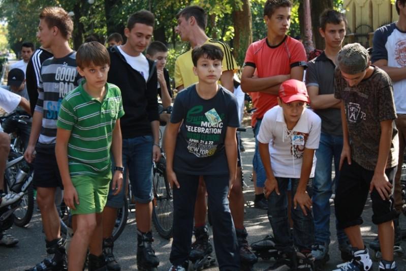 Elevii Scolii ''Nicolae Iorga'' au participat la manifestarile sportive organizate pe 22 septembrie 2011