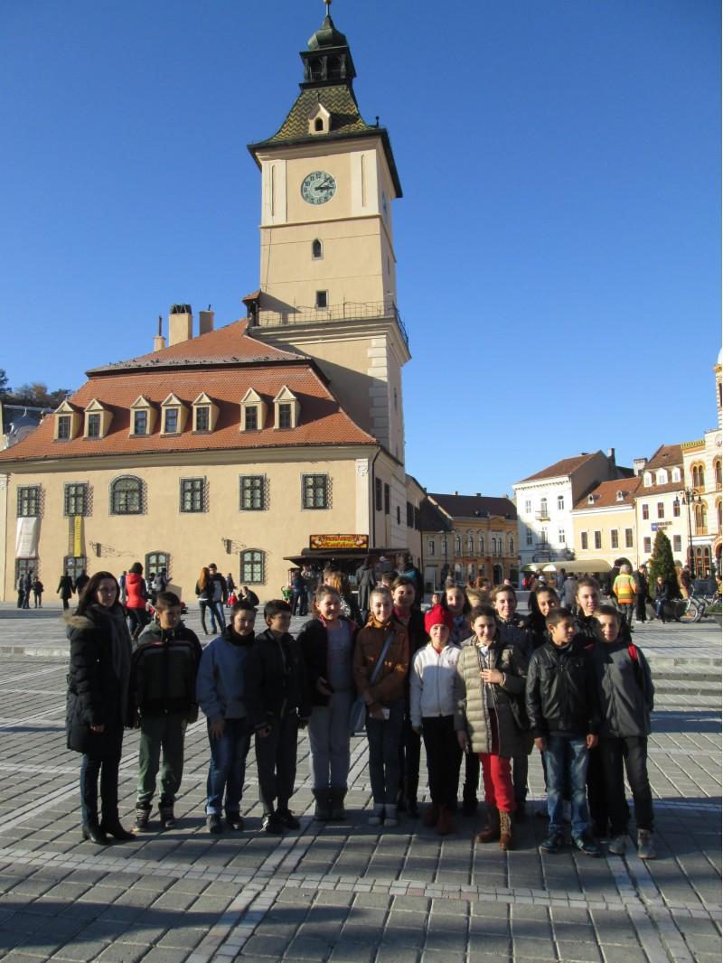 In Piata Sfatului din Brasov
