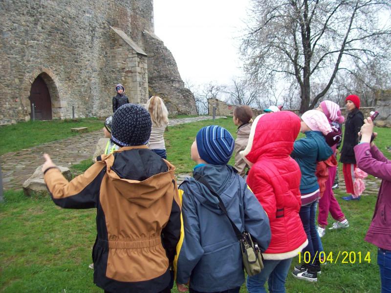 Excursie la cetatea Neamtului