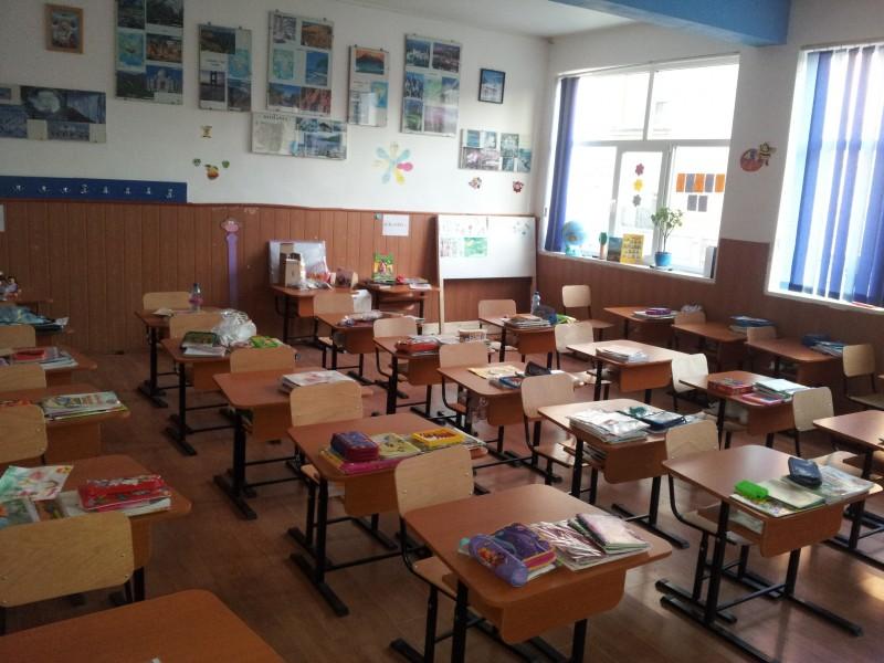 -prezentare sala de clasa pentru invatamantul primar (clasa pregatitoare)