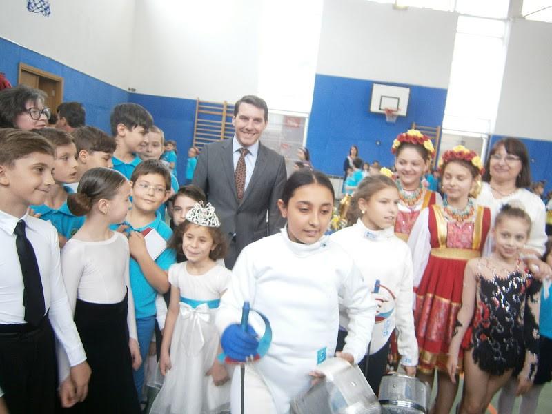 Vizita Prințului Nicolae la noi în școală