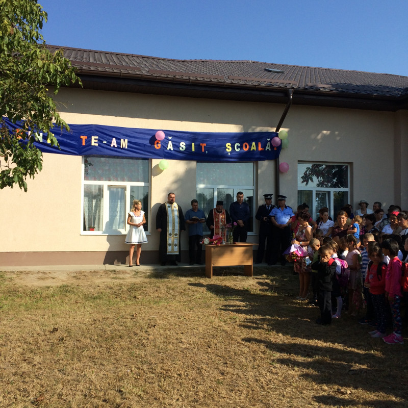 Deschiderea anului scolar 2017-2018 la Scoala gimnaziala nr. 1 comuna Cuza Voda judetul calarasi