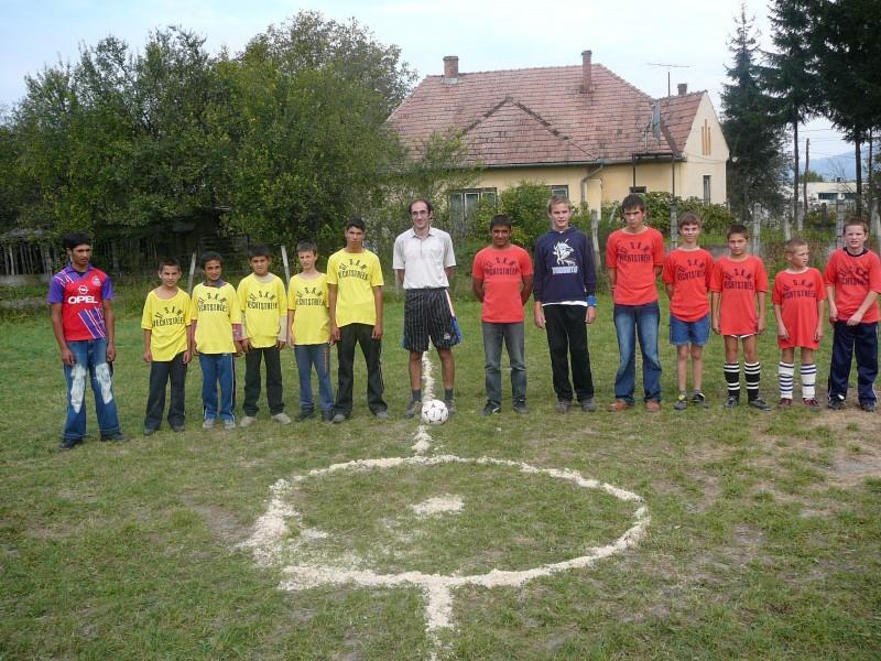 Fotbalmérkőzés Etéd-Kőrispatak