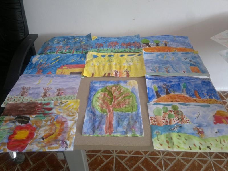 Cele mai frumoase culori sunt culorile pe care le folosesc copiii in picturile lor.