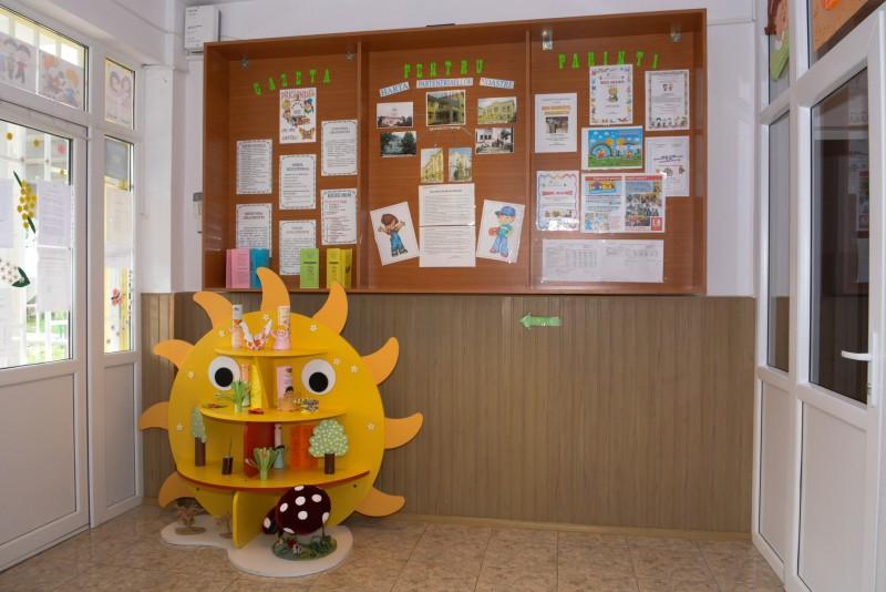 intrarea principala a Gradinitei Prichindel Galati